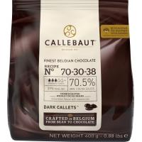 Шоколад Callebaut №70-30-38 бельгийский экстра чёрный