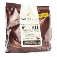 Шоколад Callebaut №811 бельгийский черный в виде калет 2,5кг