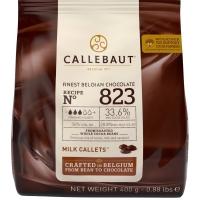 Шоколад Callebaut №823 бельгийский молочный в виде калет 2,5кг