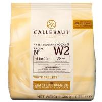 Шоколад Callebaut №W2 бельгийский белый в виде калет 2,5кг