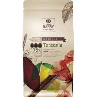 Шоколад тёмный Cacao Barry Tanzanie 75% какао, 1 кг
